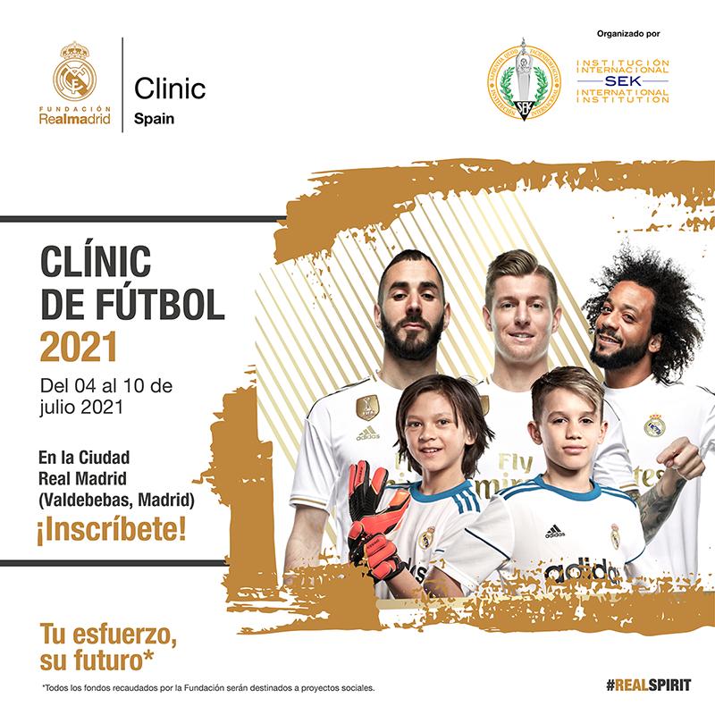 Clinic Futbol 2021 Fundacion Real Madrid Sek