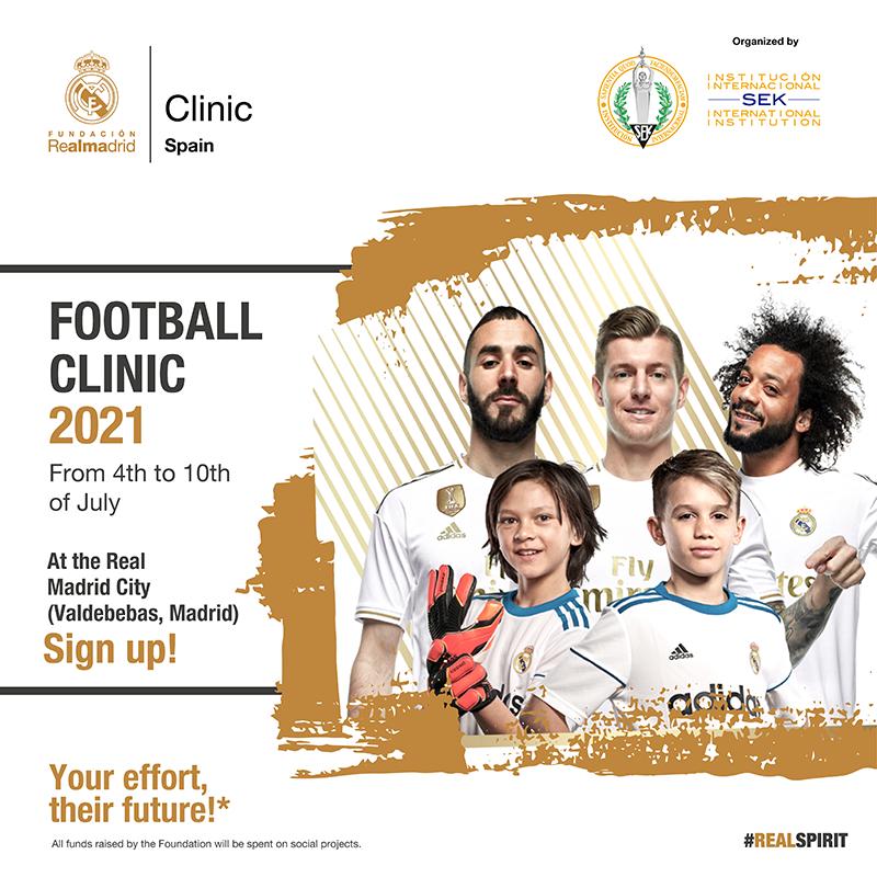 Football Clinic 2021 Real Madrid Foundation - SEK